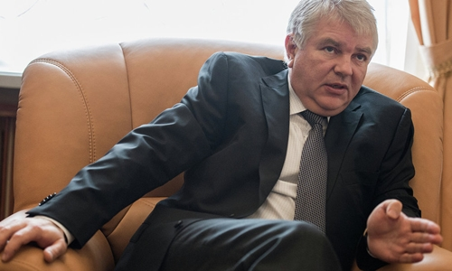 Thứ trưởng Ngoại giao Nga Alexei Meshkov. Ảnh: Sputnik.