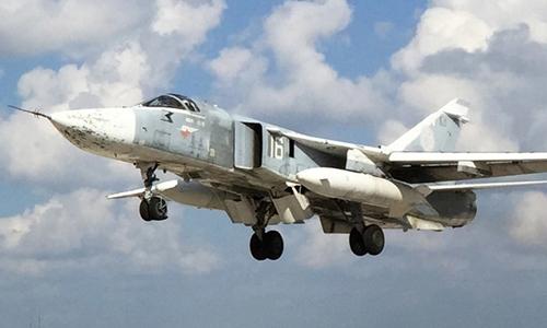 Máy bay Su-24 của Nga. Ảnh: RT.