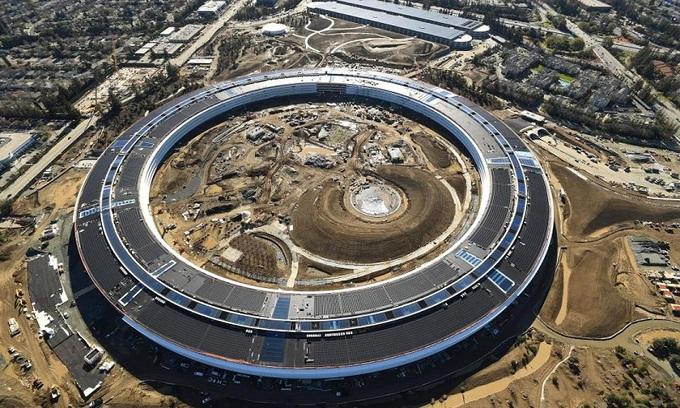 Tổng hành dinh 5 tỷ USD sắp hoàn thiện của Apple