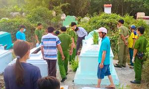 Mẹ trẻ biệt tích sau khi chôn con 5 tháng tuổi ở chùa