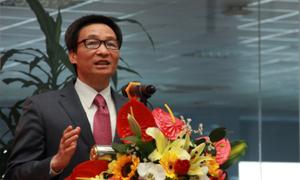 Phó thủ tướng chia sẻ với sinh viên về cách mạng công nghiệp lần thứ tư
