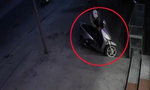 Trộm bẻ khóa xe Lead bất thành