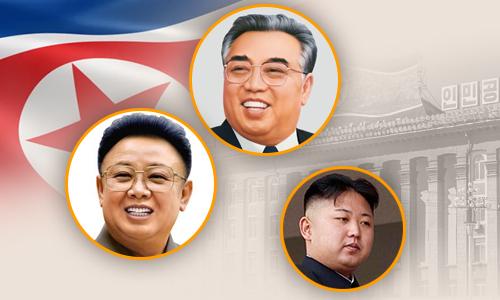 Gia đình Kim Jong-un. Đồ họa: Việt Chung.