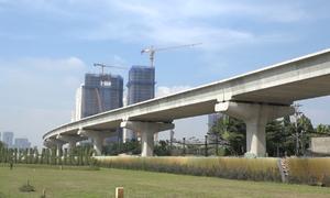 Tuyến metro số 1 của Sài Gòn hoàn thành đến đâu?