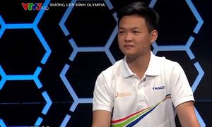 Hà Việt Hoàng khởi động ở cuộc thi quý II Olympia 17