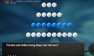 Hà Việt Hoàng vượt chướng ngại vật thành công