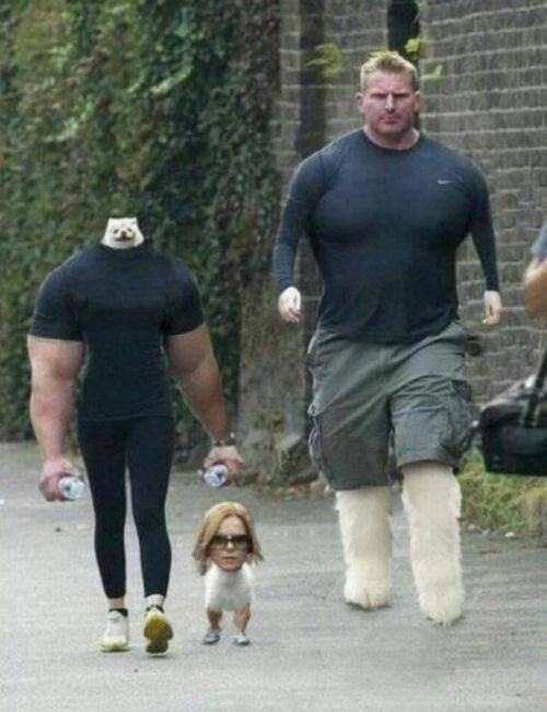 Khi bạn trai giỏi Photoshop.