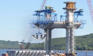 Cách xây cầu từ dưới lòng sông của người Mỹ