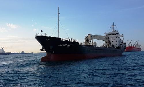 Tàu Giang Hải bị cướp biển đập phá thiết bị và thả trôi, sau đó được một tàu hàng khác của Việt Nam tiếp cận, đưa người sang tàu về cảng. Hiện tàu neo bên ngoài cảng Sandakan (Malaysia), cảnh sát biển Philippines đã lên tàu điều tra.