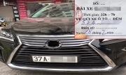 Lexus gần 4 tỷ bị vặt sạch logo khi gửi qua đêm chung cư Hà Nội