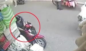 Trộm SH bất thành ở Sài Gòn