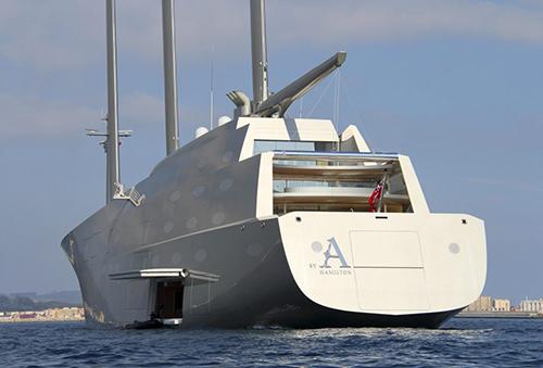 Siêu du thuyềnSailing Yacht A. Ảnh: Rex