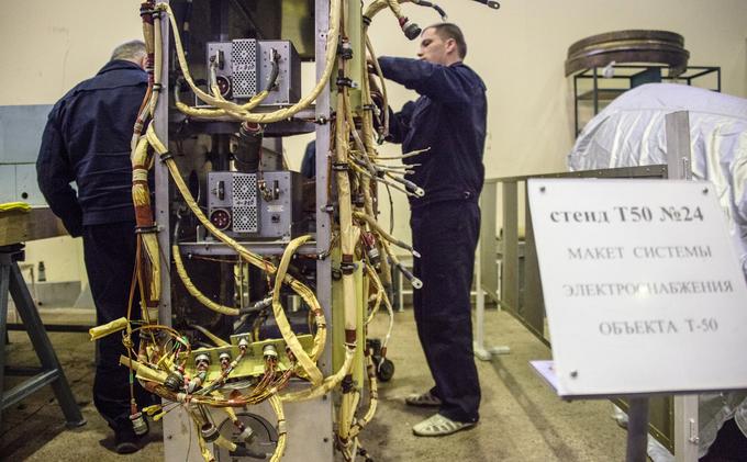 Bên trong trung tâm thử nghiệm tiêm kích tàng hình T-50 Nga