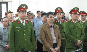 Giang Kim Đạt bình thản đón nhận án tử hình