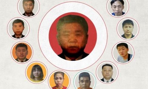 Những nghi phạm trong vụ án Kim Jong-nam. Nhấn vào hình để xem chi tiết. Đồ họa: Tiến Thành - Hồng Hạnh