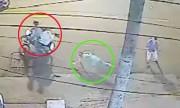 Cặp đôi Tây bị cướp giật ngã lộn nhào khi nắm tay dạo phố Sài Gòn