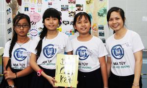 Hơn nghìn học sinh Sài Gòn ký cam kết 'không thử ma túy'