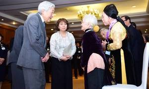 Vợ cựu lính Nhật chia sẻ mong mỏi trong cuộc gặp với Nhật hoàng