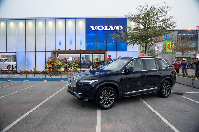 Khai trương đại lý ôtô Volvo đầu tiên tại Hà Nội