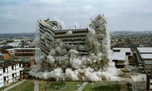 7 vụ phá sập công trình bằng thuốc nổ lớn nhất