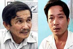 Ông Thượng cùng Giang bị bắt sau sự cố sập cầu Ghềnh để điều tra. Ảnh: C.A