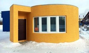 Nhà 38 m2 xây trong một ngày nhờ in 3D