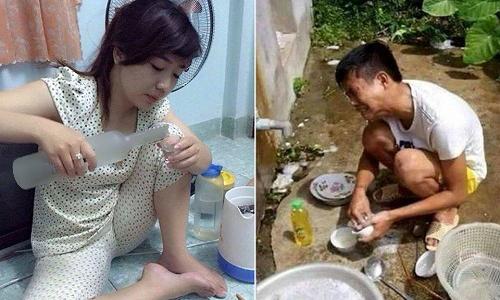 Phận làm đàn ông đã khổ, lấy nhầm vợ lại càng khổ hơn.