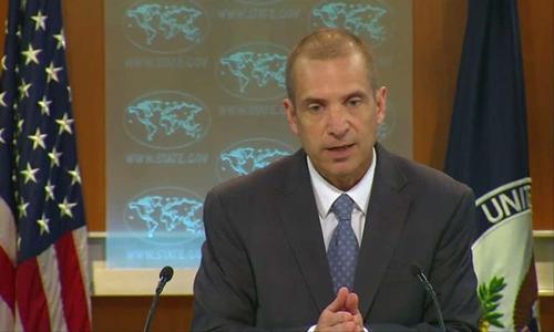 Người phát ngôn Bộ Ngoại giao Mỹ Mark Toner. Ảnh: Reuters