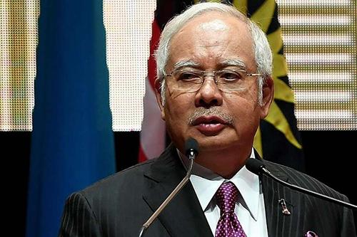 Thủ tướng Malaysia, Najib Razak,