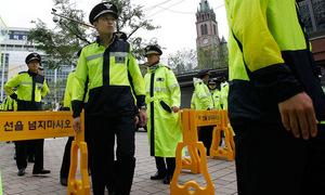 Hàn Quốc điều 8.400 cảnh sát bảo vệ phiên tòa luận tội tổng thống