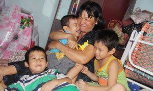 Cuộc sống của người đàn bà có 11 đứa con