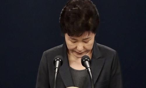 Bà Park Geun-hye. Ảnh: Yonhap.