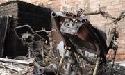 Nhân chứng vụ cháy trại hòm: 'Lửa quá lớn không thể vào trong'