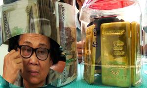 Người phụ nữ Campuchia mang 8 kg vàng lậu qua biên giới