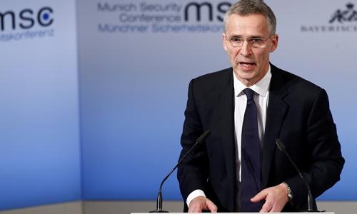 Tổng thư ký Tổ chức Hiệp ước Bắc Đại Tây Dương Jens Stoltenberg. Ảnh: Reuters.