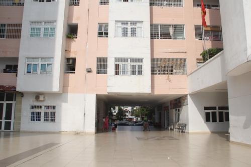 Chung cư nơi xảy ra việc tố cáo cụ ông dâm ô trẻ em ở TP Vũng Tàu. Ảnh: Phước Tuấn