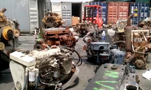 3 container chứa máy móc ôtô nhập lậu