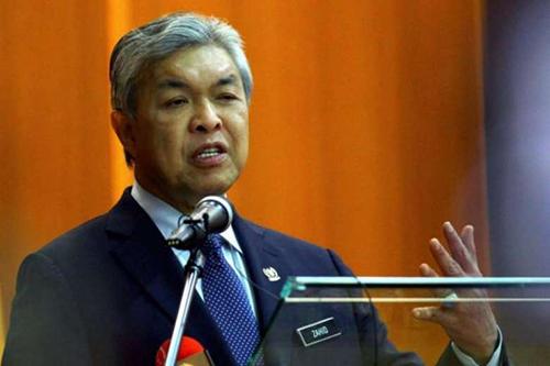 Phó thủ tướng MalaysiaAhmad Zahid Hamidi. Ảnh: The Star