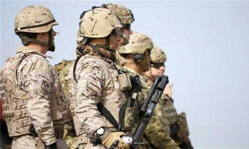 Binh sĩ Mỹ ở Iraq năm 2014. Ảnh: Reuters.