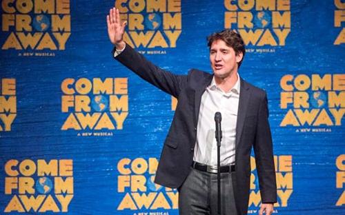 Thủ tướng CanadaTrudeau. Ảnh: AP