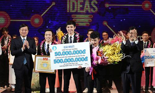 Sinh viên ĐH Thái Nguyên chiến thắng cuộc thi ý tưởng khởi nghiệp
