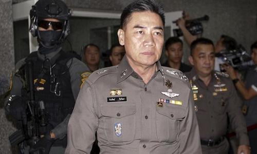 Cảnh sát trưởng Thái Lan Jakthip Chaijinda. Ảnh: Reuters