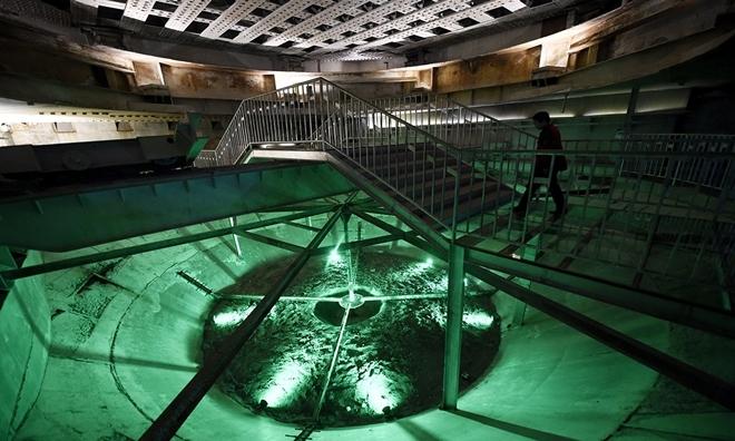 Bên trong cơ sở hạt nhân dưới lòng đất của Trung Quốc