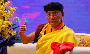 Đức Gyalwang Drukpa chia sẻ về 'thành công' với 300 doanh nhân, trí thức