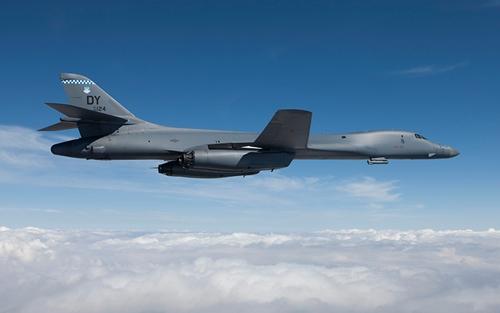 Máy bay ném bom B-1B của Mỹ. Ảnh: Boeing