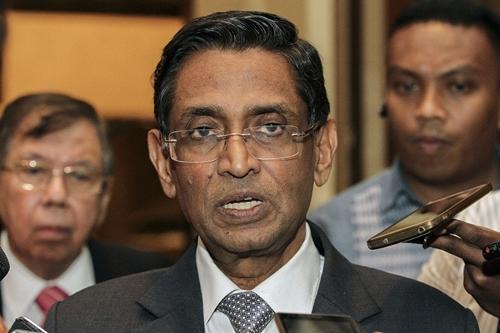 Bộ trưởng Y tế Malaysia S. Subramaniam