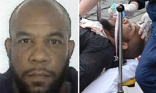 Khalid Masood, kẻ tấn công khủng bố ngoài quốc hội Anh, bị cảnh sát tiêu diệt. Ảnh: Daily Star.