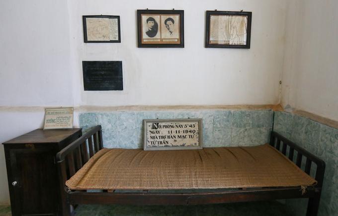 Căn phòng nơi Hàn Mặc Tử ở trước khi qua đời