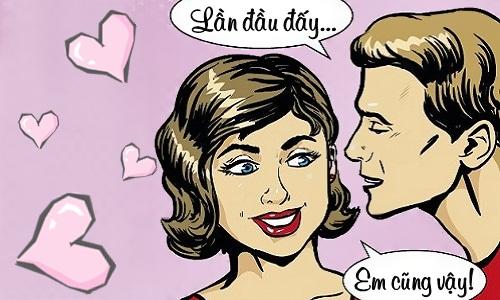 Thói quen của nụ hôn đầu - truyện cười Cá tháng Tư - VnExpress