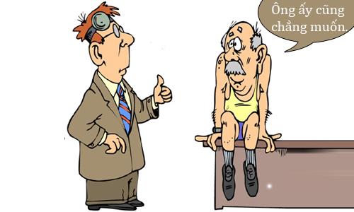 Bác sĩ choáng với gia đình sống thọ - truyện cười Cá tháng Tư - VnExpress